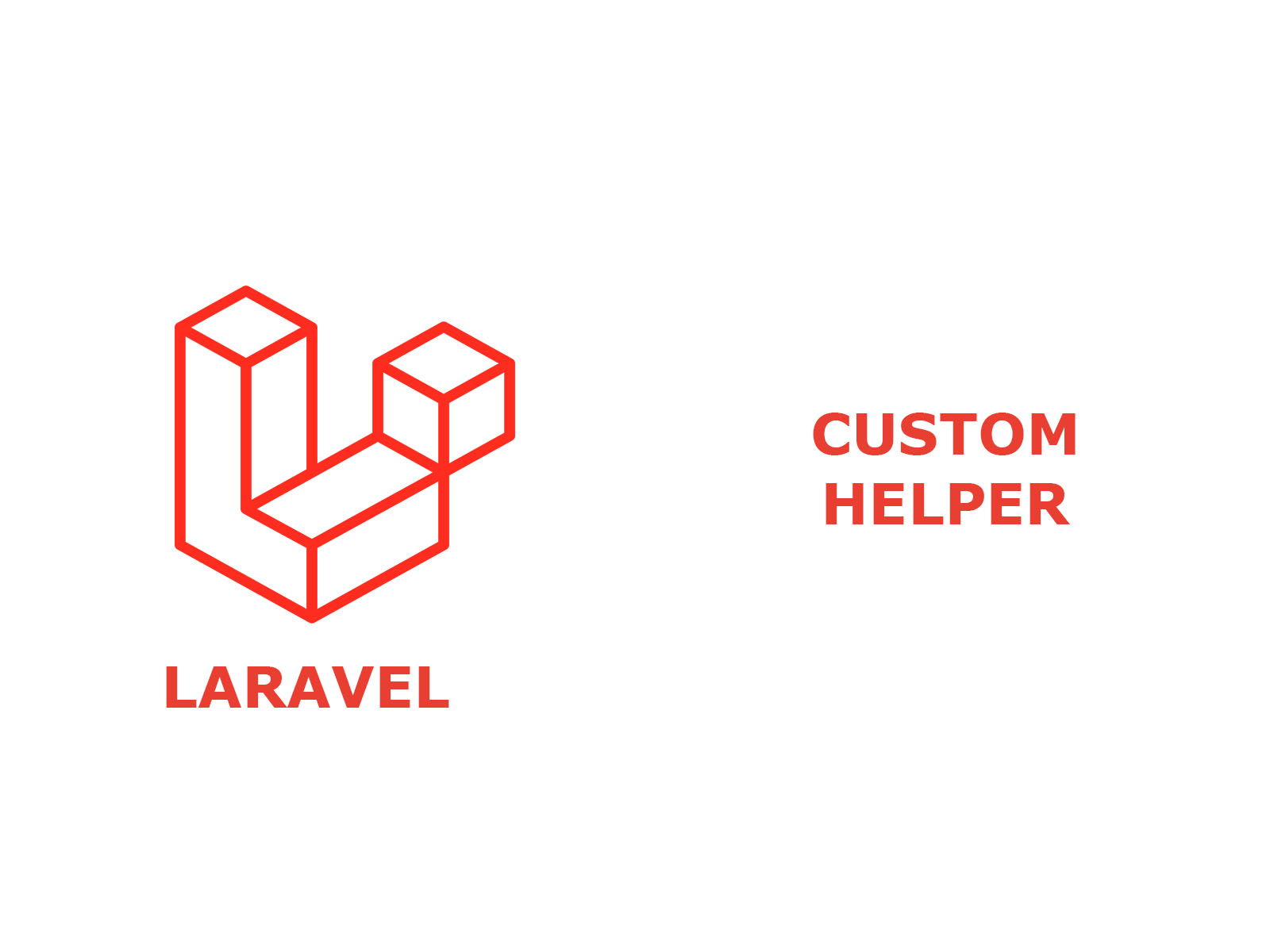 Custom Helper in laravel