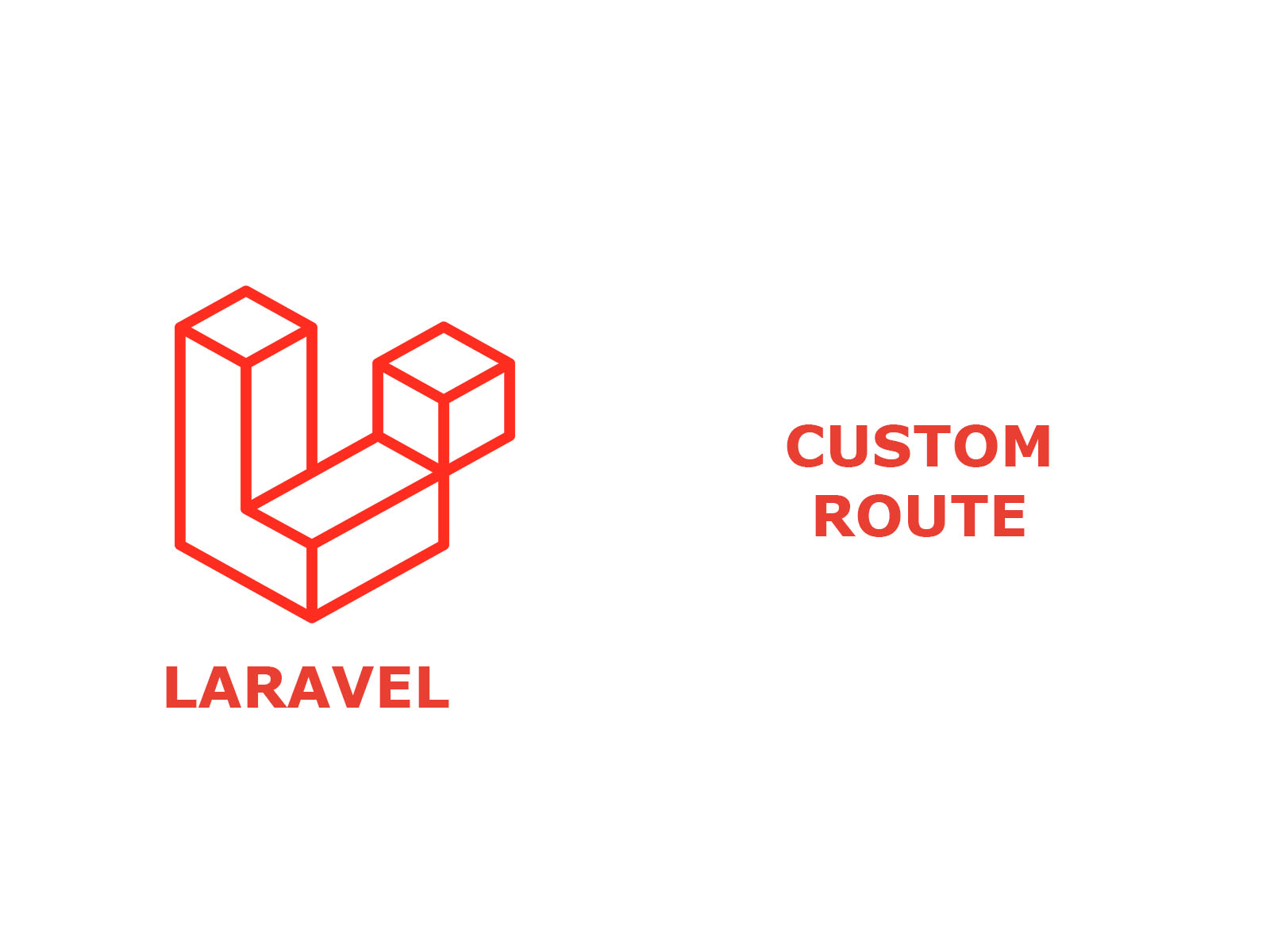 Custom route in Laravel
